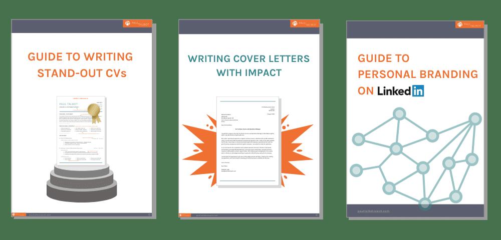 Free Guides to CV, Cover Letter & LinkedIn Optimisation